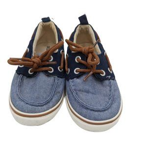 Toddler Boys Old Navy Blue Chambray Slip On Shoes